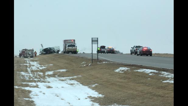 A two-vehicle crash occurred Monday afternoon on U.S. Highway 23, just south of County Road 7 in Rock County. A Ruthton man died at the scene.