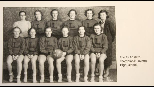Do you know any of these athletes? This photo of the 1937 state champions, Luverne High School, is included in a book celebrating the 100 years of the Minnesota High School League. The names of the athletes were not included in the book.