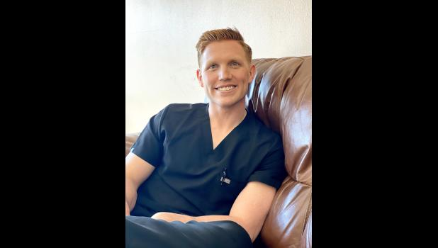 Dr. Tanner Brolsma has been at Luverne Family Dental for just over a month after Dr. Rebecca Vis moved.