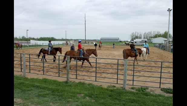 Each Wednesday evening until the Rock County Fair in late July, 4-H horse project members will be learning horsemanship basics in the newly resurfaced arena at the Rock County fairgrounds in Luverne.