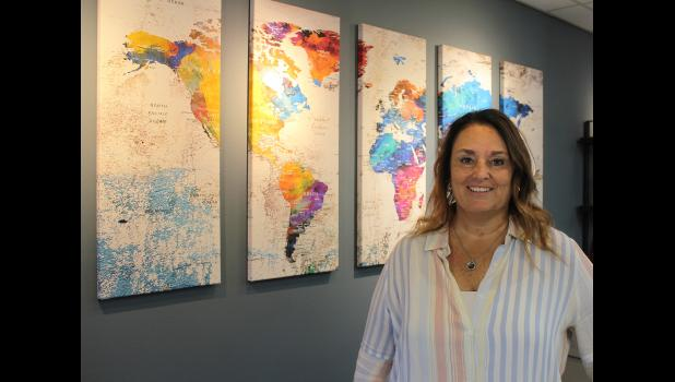Sue VerSteeg began Great Planes Travel in Luverne in 1999. The agency is celebrating 20 years in business at its new location on North Freeman Avenue.