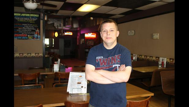 """Jens """"J.R."""" Jensen purchased the Green Lantern Café & Bar in Hardwick on April 1 and will reintroduce patrons to the change during the town's Jubilee Days celebration this weekend."""