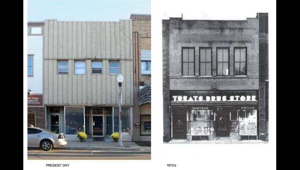 Firefly is located in what was once Treats Drug Store in 1910.