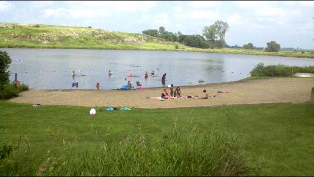 The beach and lake will not be replaced at the Blue Mounds State Park.