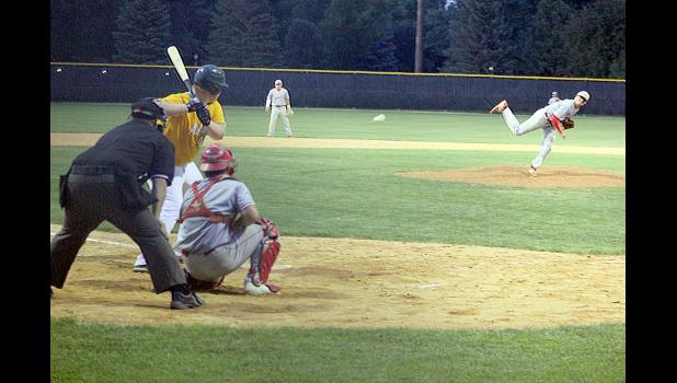 The Luverne Redbirds defeated the Adrian A's 15-1 July 29 at Redbird Field in the first game of the Region 13C tournament. Tyler Reisdorfer was the winning pitcher for Luverne and Declan Beers was catcher.