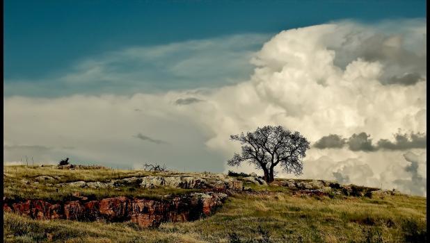 """""""Three Sisters Dramatic Cloud"""" by Bradley Herreid"""