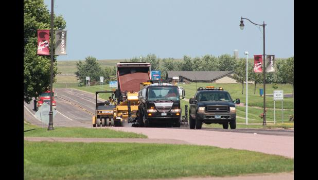 This summer MnDOT crews will conduct emergency mill and overlay repairs to Highway 75 this summer.