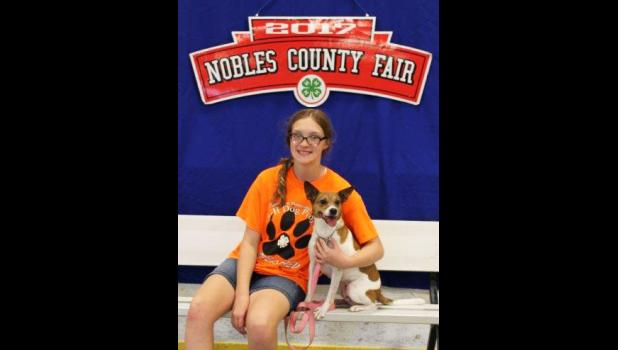 Rebecca Austin will represent Rock County at the upcoming Minnesota State 4-H Dog Show.