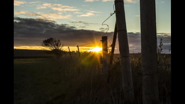 """Country Sunrise,"" by Caryn Harrington of Adrian was a winner in the August Prairie Photo Contest."