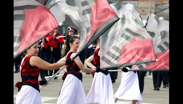 Luverne color guard