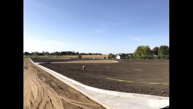 The Uithoven Addition has been platted, infrastructure complete and the curb and gutter has been poured. The dirt has been leveled and is ready for seeding, and now the only thing needed is cooperative weather to pour asphalt.