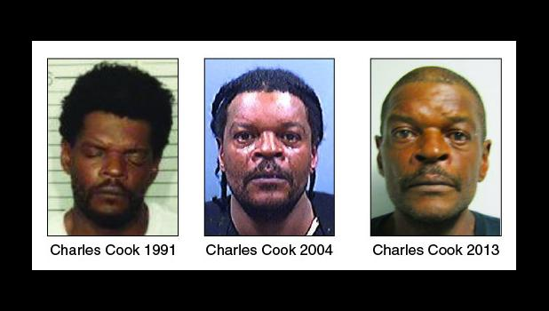 According to Pennsylvania authorities, Cook's addresses in the past 10 years have included Ohio, North Dakota, California and multiple locations in Minnesota. He has also been identified under other names and birthdates. Among them are Charles Johnson, Ralph Johnson and Charles Wright.