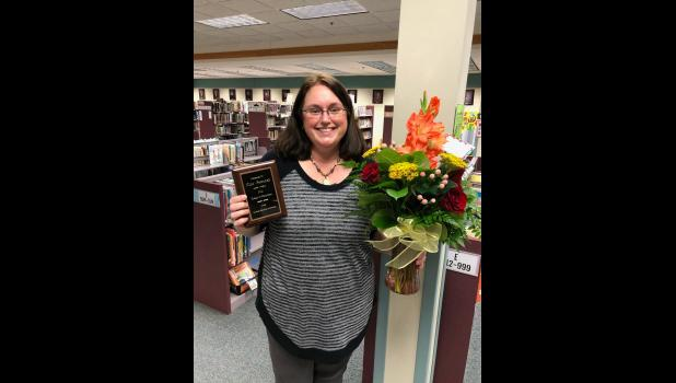 Tina Petronek, a paraprofessional with Luverne Elementary School, is the Luverne Education Association's 2021 Friend of Education.