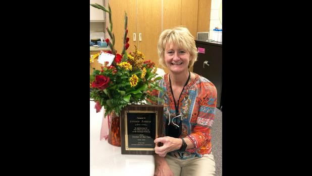 Lucinda Rofshus is the Luverne Education Association 2021 Teacher of the Year. Rofshus, a fourth-grade teacher, is a 29-year veteran of the classroom. She has taught 26 years in Luverne.