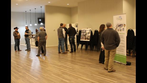 Organizers for the proposed Walleye Wind Farm in western Rock County host an open house Dec. 5 at Springbrooke Events in Beaver Creek. NextEra Energy Resources recently purchased the proposed wind farm and will develop the 111-megawatt operation in 2021.