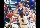 H-BC guard Easton Harnack charted three assists during Friday's 70-45 home win over RRC.