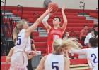 Mallory Thorson burned the nets for 24 points during Saturday's home win over Garretson.