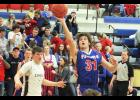 Senior Jax Wysong netted 13 points during H-BC's three-point home loss to HL-O-F Thursday.