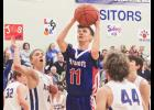 H-BC senior Wyatt Westrum scored 20 points during Friday's 77-60 home win over Adrian.