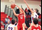 Luverne senior Isaiah Bartels scored 25 points during a 63-49 home win over H-BC Tuesday.