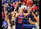 H-BC senior Whitney Elbers scored 14 points and blocked eight shots during a home rout of Murray County Central Friday.