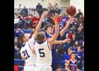 H-BC freshman Jax Wysong turned in a 13-point, seven-rebound effort during Saturday's 70-57 home win over Garretson.