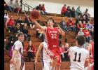 Luverne junior Cole Claussen turned in a 22-point, six-rebound effort during Monday's 77-70 home win over Minneota.