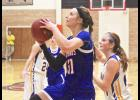 H-BC junior Sidney Fick scored a game-high 28 points during Tuesday's 55-36 victory over Adrian in Worthington.