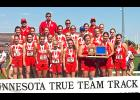 The Luverne girls placed third at the Minnesota Class A True Team Championships in Stillwater Saturday.