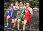 Jed Dooyema placed second in the 400-meter dash during Thursday's section meet in Luverne.