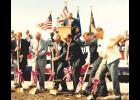 Luverne's Ben Vander Kooi (at podium) emceed groundbreaking ceremonies in 1991. Pictured with golden shovels are (from left) Rep. Vin Weber, the late Sen. Gary DeCramer, Sen. Jim Vickerman, Sen. Joe Bertram, Rep. Andy Steensma and Rep. Norm DeBlieck.
