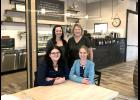 Manda Steensma (back, left) and Vicki Altena (back, right) sold their WildFlowers Coffee Boutique to Tracy Wieneke, Adrian, (front, left) and Teri Jeeninga, Rock Rapids. The Jeeninga sisters, who grew up near Little Rock, Iowa, said they plan to continue WildFlowers' mission in the community.