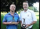 Charlotte, N.C., native Tyler Kashdan (left) and Mike Haakenson (right) won the Member-Guest Tournament title.