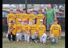 McClure Electric captured the Luverne Community Education Major League Baseball Tournment title last week. Team members include (front row, from left), Christopher Bonilla Soto, Owen Janiszeski, Carter Sehr, Isaac DeBates, Riley Reese, Masyn Akkerman, (back) Camden Janiszeski, Sam Honerman, Owen Sudenga and coach Jeremy Sudenga. Missing is coach Barry Shelton, Collin Anderson, Tucker Banck and Jonathon Sjaarda.