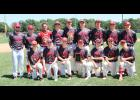 The Luverne American Legion baseball team capped a 15-8 season by placing sixth at the state tournament in Ely over the weekend. Team members include (front row, from left) Ethan Beyer, Jade Smith, Derek Lundgren, Quinn Buss, Jacob Von Tersch, Cade Wenninger, Gaige Nath, (back) coach Logan Norman, Declan Beers, Colby Crabtree, Jacob Van Dam, Isaiah Bartels, Nathan Nekali, Jake Haugen, Ben Serie and coach Skyler Wenninger. Missing is Mark Sterrett.