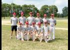 The Luverne 19U baseball team won the Southwest Minnesota 19U championship Friday in Adrian. Pictured are (front, left) Trevor Halverson, Bailey Cowell, Quinn Buss, Jacob VonTersch, Riley Anderson; (back) assistant coach Derek Lundgren, Jacob Van Dam, Nathan Nekali, Colby Crabtree, Ethan Beyer and Cade Wenninger.