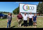 From left are RCO Director Elizabeth Shear, and Elbers family members Keith Elbers, Kevin Elbers, Kurt Elbers and Sharla Broersma.