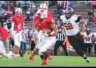 Luzerne junior LaShad Smith led the Cardinals with 77 rushing yards during Friday's 41-12 home win over Worthington.