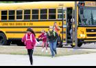 Luverne Public Schools started in-person classes Tuesday, the first time since the coronavirus pandemic switched instruction to distance learning from home in March. All students and staff must wear masks in school as well as on the buses until COVID-19 positive tests decline in the county.