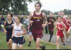 Robby Armstrong placed 25th at the varsity level during the Bruce Gluf Classic Saturday in Luverne.