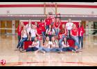 The Luverne High School 2020 volleyball team members include (front, sitting, from left) Grace Sandbulte, Christina Wagner, Kamryn VanBatavia, Elise Ferrell; (middle) Trista Baustian, Reghan Bork, Silvia Recuero, Gracie Zewiske, Paige Sandbulte, (back) coach Sara DeBeer, Macy Stratton, coach Avery Van Roekel, Crystal Sayavong, McKenzie VanGrootheest, Sadie Reisdorfer, Morgan Gonnerman and coach April Wallace..