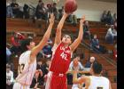 Luverne senior Eli Haugom scored 19 points and grabbed five rebounds during Friday's home loss to Southwest Christian.