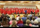 "The Luverne High School choir sings, ""Baby Born in Bethlehem,"" by Victor C. Johnson."
