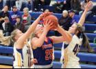 H-BC's Abby Knobloch scored a game-high 12 points during Thursday's 48-39 home win over Adrian-Ellsworth.