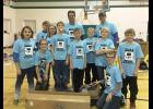 Rock's Robotics, the county's 4-H robotics team, will be competing at the state tournament in late January 2016. Members competing at the regional qualifier were Zoe Perkins, Cassie Chesley, Brandon Berghorst, Zoey Berghorst, Carter Abels, coach Randy Berghorst, Alex Dysthe, Quentin Johnson, coach Jason Braucht, Burke Johnson, Ethan Braucht and Leif Tollefson.